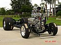 1941 Willys Bill Henry/FL Outlaw chassis 460 Ford engine