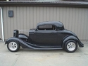 "1934-35 Chevy Coupe standard 107"" wheel base"