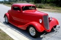 1934 FORD 3 WINDOW COUPE Fred Allen Fl - owner