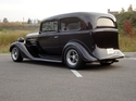 1935 Chevy standard sedan (steel body) on Outlaw chassis - Chuck Scilipote/MD owner
