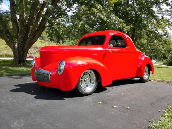 1941 Willys coupe Jerry Stuart