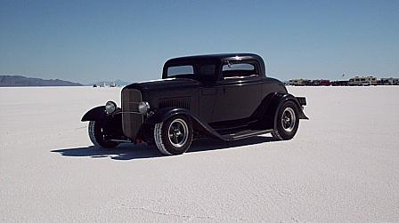 1932 Ford 3 Window Coupe - Owner P. Westwell Sydney Australia