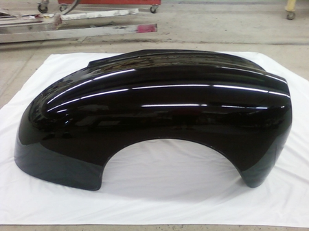 1940 - 1942 Willys front fenders  - coupes and sedans