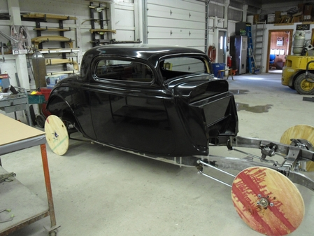 1934 Ford Coupe Body shell package & Ford Coupe Body shell package markmcfarlin.com