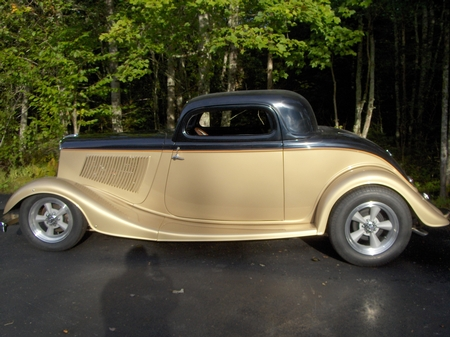 1933 Ford coupe Charles (Jr.) Weir Canada owner