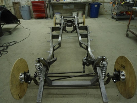 1940-41 WILLYS CHASSIS AND PERIMETER FRAME