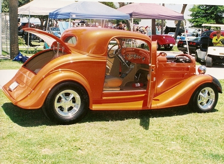 1934-35 Chevy coupe body w/chassis as detailed 25,000.00