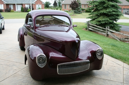 1941 WILLYS 4-SALE 63,000.00 US