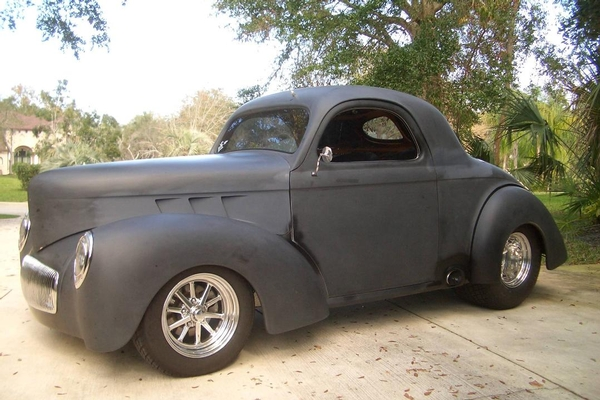1941 WILLYS OUTLAW BODY & CHASSIS 4-SALE by owner asking 60K