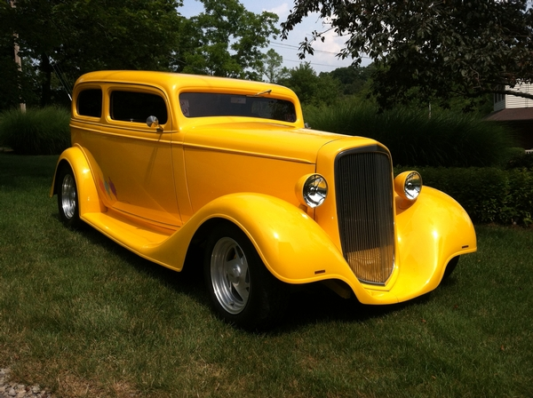 34 CHEVY SEDAN 4-SALE by owner $39,000 OBO