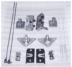 Complete Inside Door Latch Assembly Kit (parts also itemized sold separately)