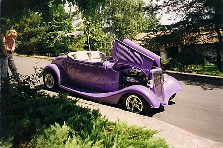 1934 Ford roadster Outlaw body and chassis