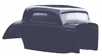 1934 Chevy Coupe Body Shell Package