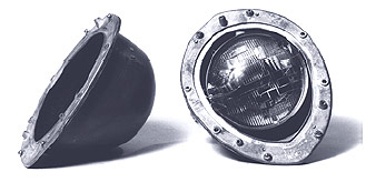 1940-43 Willys Headlight Bucket Assemblies
