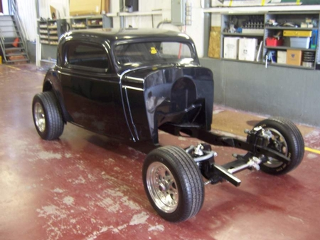 BODY PACKAGES Willys cpe Chevy cpe sedan/sedan delivery & Ford cpe roadster