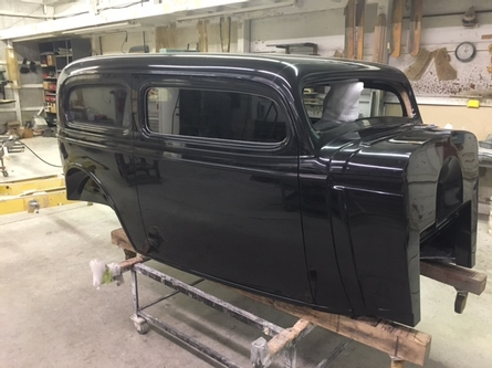 1934 Chevy Sedan Delivery w/fender package