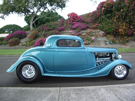 1934 Ford (PRO) coupe body/chassis pkg G. Fukumoto, HI