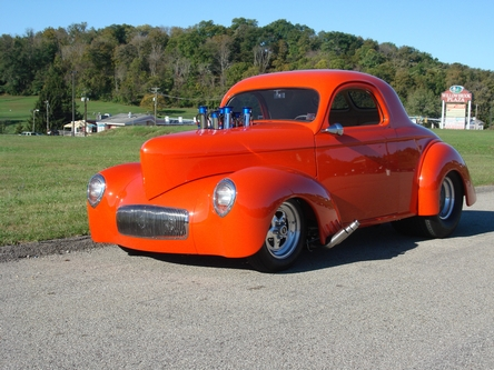 1941 Willys Outlaw body/chassis Owner Jim Gillingham
