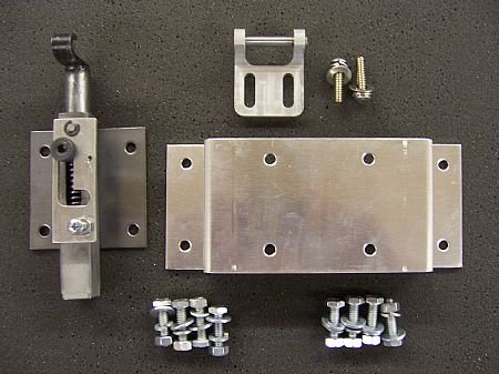 DECK LID LATCH, DECK LID LATCH KITS Ford Chevy (Willys pictured)