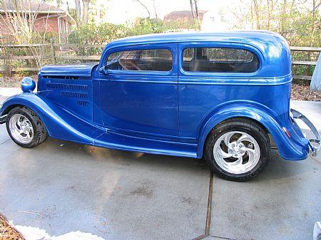 1934 Chevy sedan Calvin Vander Molen, VA