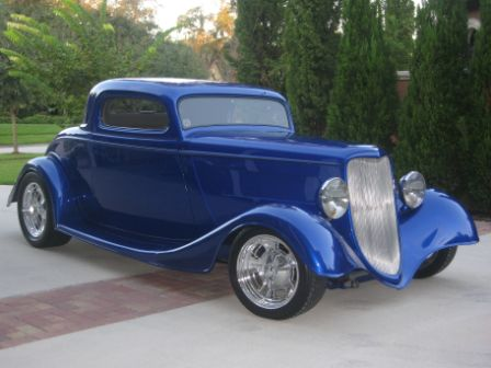 1933 FORD 3 WINDOW COUPE  (BAM  Lithia, Fl owner)