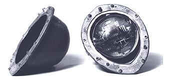 1940-43 Willys Headlight Bucket Assemblies