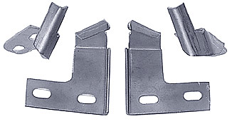 1934-35 Chevy Standard Hood Latch Catches